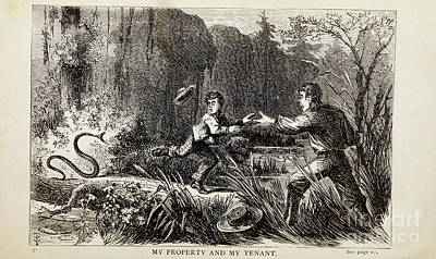 Drawings Royalty Free Images - MY PROPERTY AND MY TENANT i Royalty-Free Image by Historic illustrations