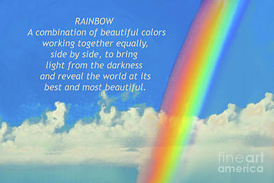 Ps I Love You - My Rainbow Definition by Regina Geoghan