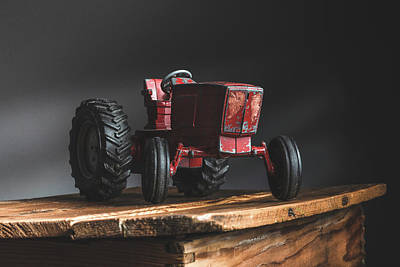 Music Figurative Potraits - My Toy Tractor by Bruce Davis