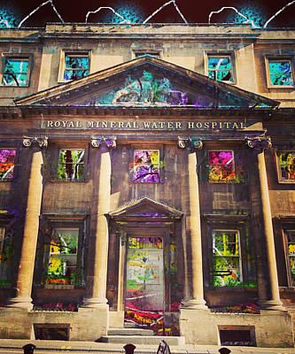 Surrealism Digital Art - Mystical Mansion by Steve Swindells