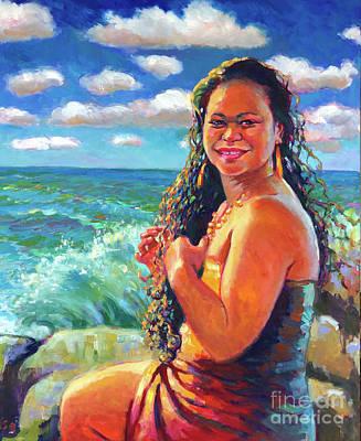 Painting - Namakaokaha'i by Isa Maria