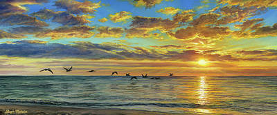 Painting - Naples Sunset by Steph Moraca