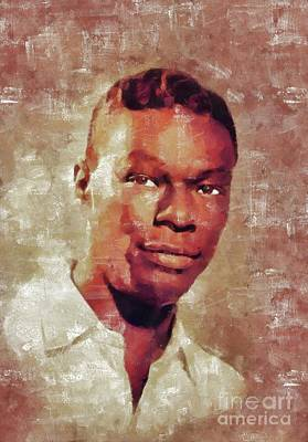 Royalty-Free and Rights-Managed Images - Nat King Cole, Music Legend by Esoterica Art Agency