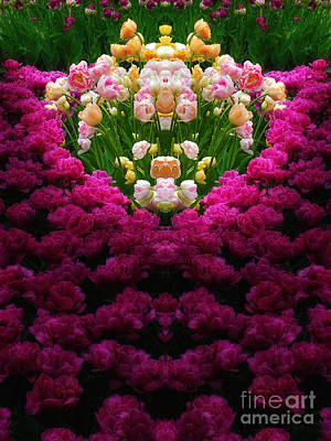 Beach House Signs - Nature-in-Abstract Tulip Heaven by Mike Nellums