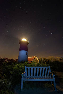 Photograph - Nauset Lighthouse by Crystal Wightman