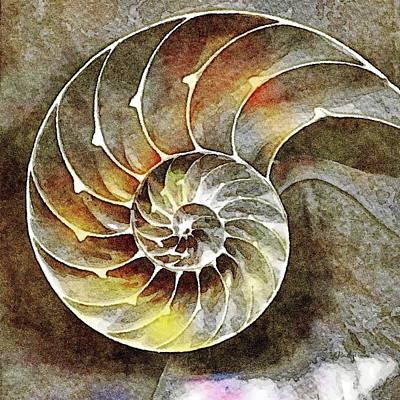 Painting - Nautilus Chambers by Russ Harris