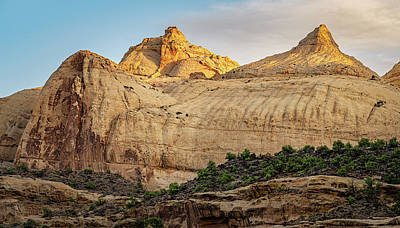 Superhero Ice Pop - Navajo Dome Capitol Reef National Park Utah by Joan Carroll