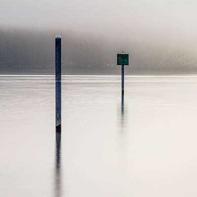 Photograph - Navigation Aids by Tony Locke