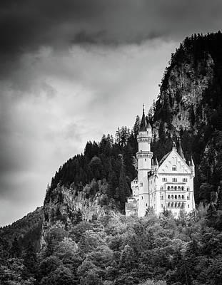 Antlers - Neuschwanstein Castle BW by Alexey Stiop