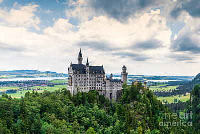 Stellar Interstellar - Neuschwanstein Castle by DiFigiano Photography