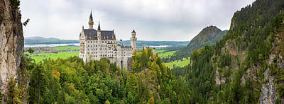 Fantasy Royalty-Free and Rights-Managed Images - Neuschwanstein Castle by Pelo Blanco Photo