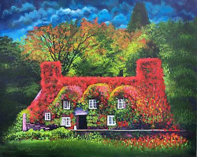 Painting - New England Colors by Robert Korhonen
