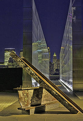 Fruits And Vegetables Still Life - New Jersey  Empty Sky 9-11 Memorial 6 by Allen Beatty
