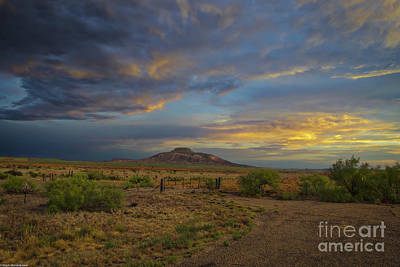 Cargo Boats - New Mexico Sunset by Mitch Shindelbower