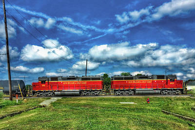 Firefighter Patents - New Orleans and Gulf Coast Trains by Anthony M Davis