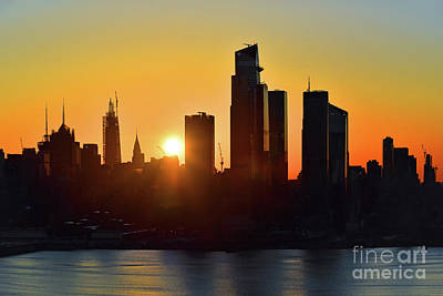Queen - New York City Saturday Sunrise by Regina Geoghan