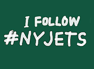 Fleetwood Mac - New York Jets fan art  by Enki Art