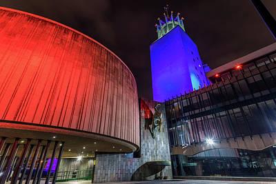 Photograph - Newcastle Civic Centre cc0008 by David Pringle