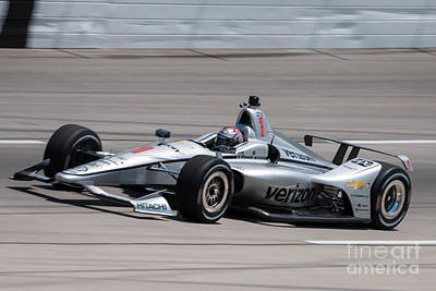 Namaste With Pixels - Newgarden heading for the home stretch by Paul Quinn