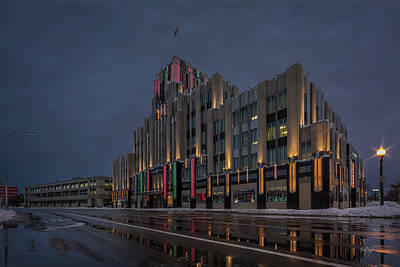 Antlers - Niagara Mohawk Building ll by Everet Regal