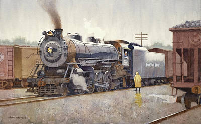 Painting - Nickel Plate Blues by Stan Masters