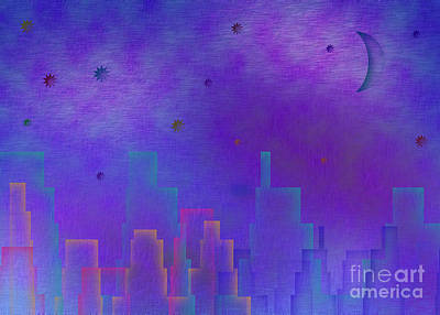 Royalty-Free and Rights-Managed Images - Night City by Bruce Rolff