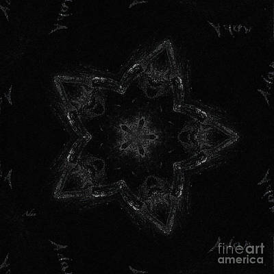 Graduation Sayings - Night Dancer BW Digital Mandela by Felipe Adan Lerma