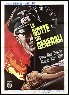 Firefighter Patents Royalty Free Images - Night of the Generals with Peter OToole and Omar Sharif - 1967 Royalty-Free Image by Stars on Art