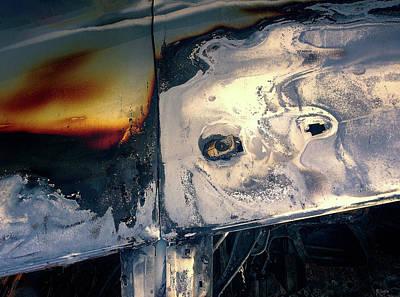 Digital Art - Nightfalling by Ole Klintebaek