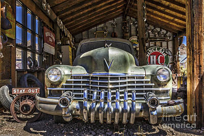 Ballerina Art - No Country For Old Cars by Mitch Shindelbower
