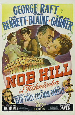 Royalty-Free and Rights-Managed Images - Nob Hill, with George Raft and Joan Bennett, 1945 by Stars on Art