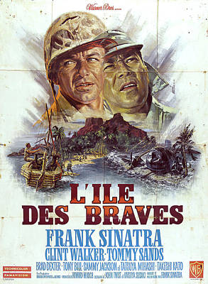 Royalty-Free and Rights-Managed Images - None But the Brave, with Frank Sinatra, 1965 by Stars on Art