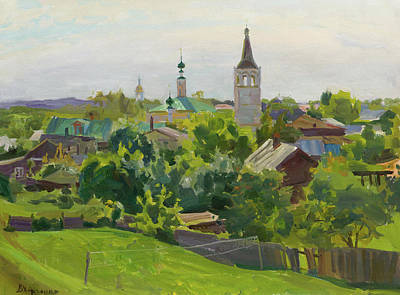 Gaugin Rights Managed Images - Noon in Suzdal Royalty-Free Image by Victoria Kharchenko