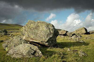 Photograph - Norber Erratics by David Taylor