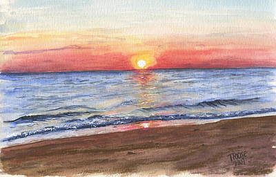 Classic Christmas Movies - Norfolk Sunrise by Taphath Foose