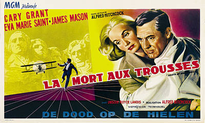 Royalty-Free and Rights-Managed Images - North by Northwest, 1959 by Stars on Art