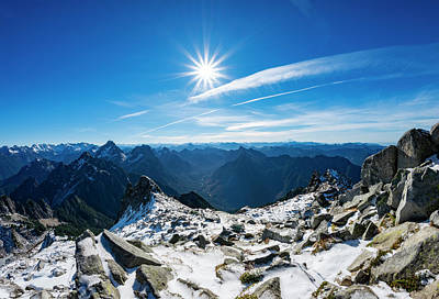Royalty-Free and Rights-Managed Images - North Cascades Snow and Sun 3 by Pelo Blanco Photo