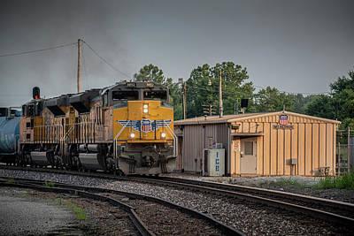 Staff Picks Cortney Herron - Northbound Union Pacific Freight at Mount Vernon Illinois by Jim Pearson
