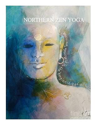 Mixed Media - Northern Zen Yoga by Sandra Taylor-Hedges
