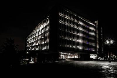 Staff Picks Cortney Herron - Northwesterns Segal Visitor center one night by Sven Brogren