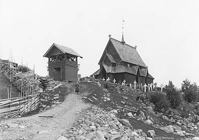 Steampunk - Norwegian landscapes and Nordic Life No 015 by Swedish photographer Axel Theodor Lindahl 1841  1906 by Artistic Rifki
