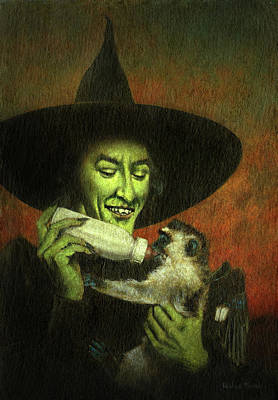 Kitchen Food And Drink Signs - Not So Wicked Witch by Michael Thomas