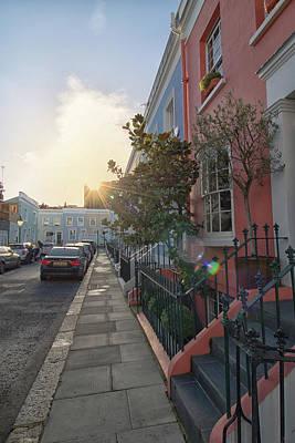 Angels And Cherubs - Notting Hill Sunset by Martin Newman