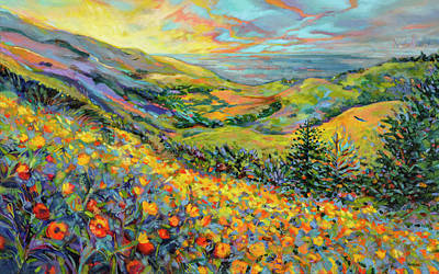 Mellow Yellow - Novato Sunrise by Jen Norton