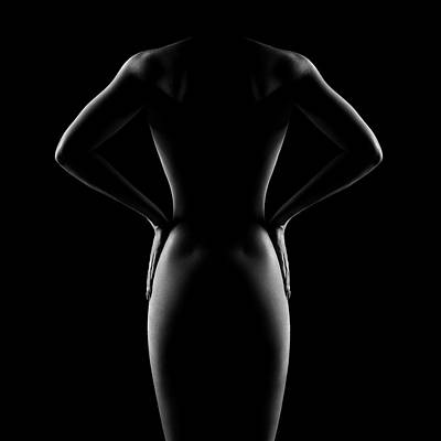 Grateful Dead - Nude woman bodyscape 53 by Johan Swanepoel