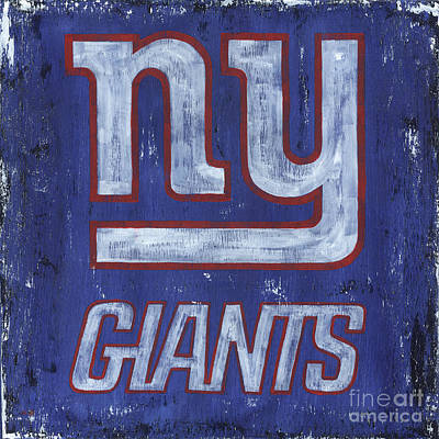 Royalty-Free and Rights-Managed Images - NY Giants by Debbie DeWitt