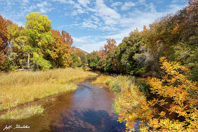 Photograph - Oak Creek in the Fall by Jeff Goulden