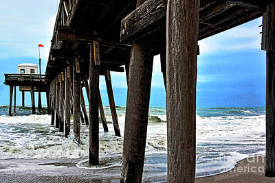 Fruits And Vegetables Still Life - Ocean View Under the Pier NJ Shore by Regina Geoghan