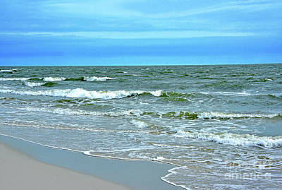 Latidude Image - Oceanscape in Blue and Green by Regina Geoghan