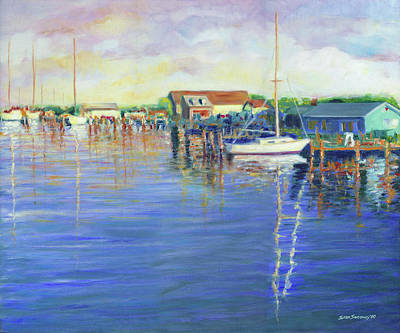 Painting - Ocracoke Sunrise by Stan Sweeney